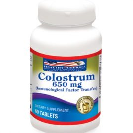 COLOSTRUM 650 MG 60 CAPSULAS FACTOR DE TRANSFERENCIA