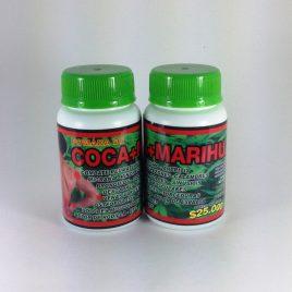 Pomada  De Coca + Marihuana  medicinal,  Formula indígena.