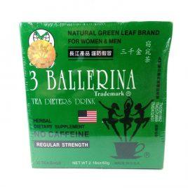 Te 3 Ballerina X30 bolsas de té. Adelgazante  natural