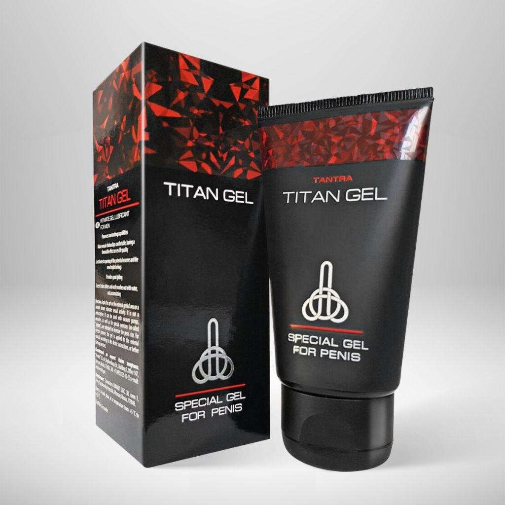 Titan Gel Special Gel For Penis Alarga Pene x 50ml Reclama