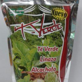 Linaza te verde y alcachofa