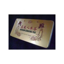 Ginseng Tea Te de Ginseng Koreano caja de lata por 100 sobres Energizante evita fatiga
