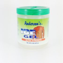 """Gel Anderson ice gel verde «resistencia ultra""""X 237g"""