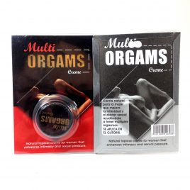 Multiorgásmico.gel Orgams creme. Mejora  el placer sexual