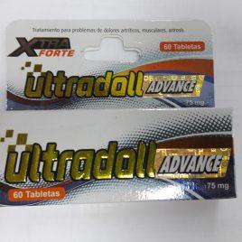 ULTRADOLL ADVANCE x60 tabletas Elimina dolores Articulares y Artritis