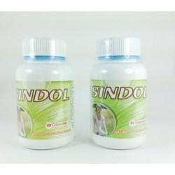SINDOL Elimina dolores Articulares Artritis Osteoporosis 100% Natural x 60 cápsulas